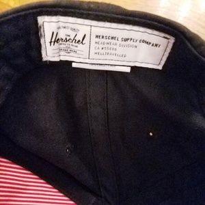 Herschel Supply Company Accessories - Herschel Supply Co. Hat Black Well Traveled Snapbk
